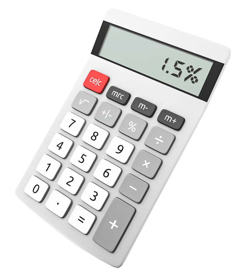 our fees new calculator