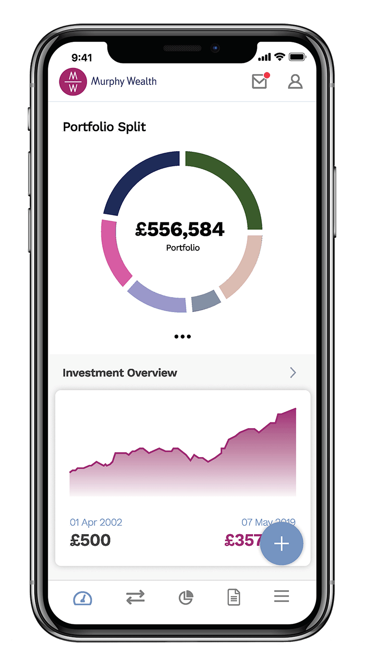 phone mw wealth app
